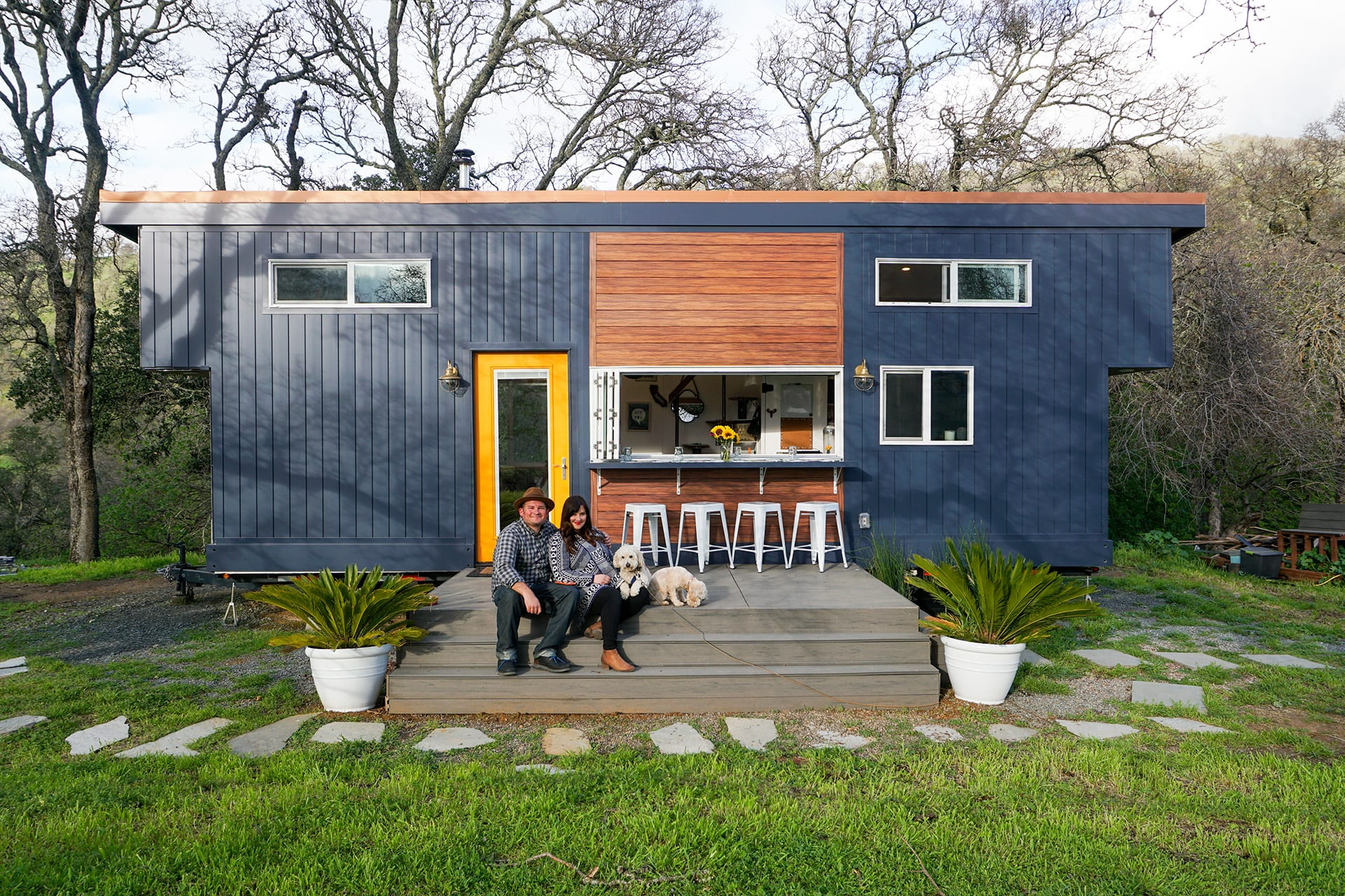 why we remodelled the exterior of our tiny house